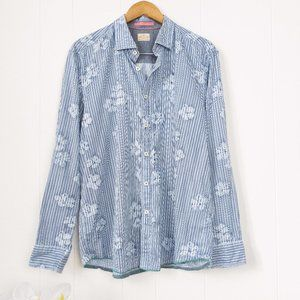Tommy Bahama Cotton Printed Button Down Shirt